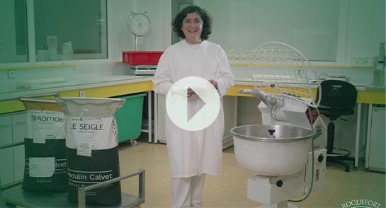 Chantal, Responsable de l'atelier Penicillium