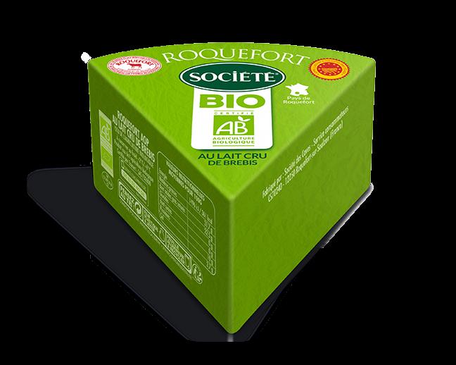 Roquefort AOP Société Bio 220g au rayon Coupe